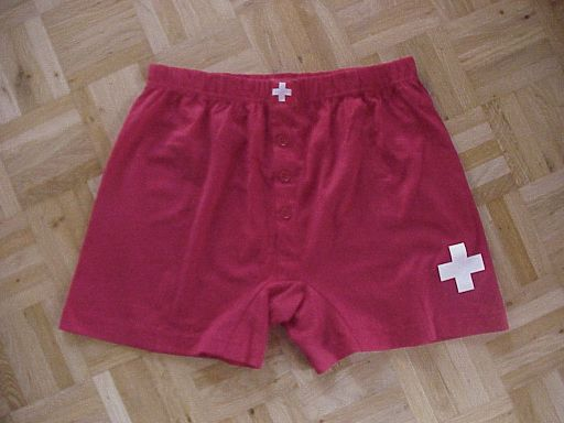 Boxer-Shorts<br>rot<br>Gr. L