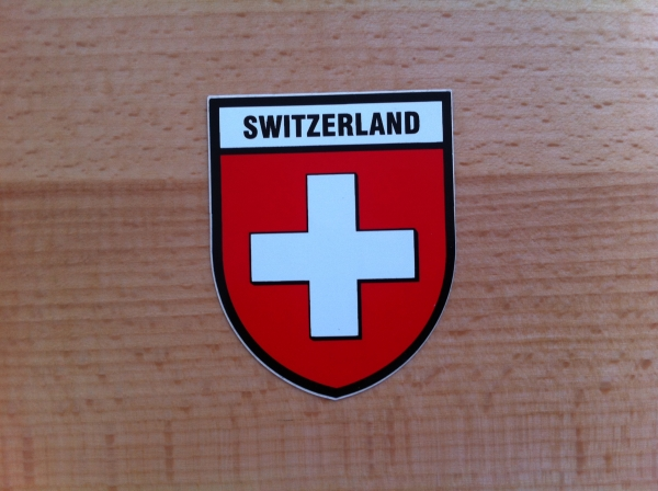 Decal SWITZERLAND